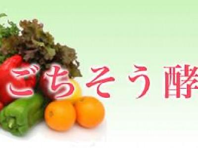 80種類の野菜とフルーツから生まれた《 ごちそう酵素 》